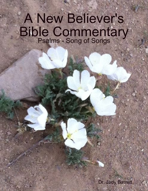A New Believer's Bible Commentary: Psalms – Song of Songs, Judy Barrett