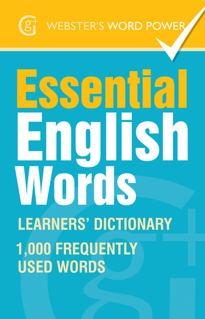 Webster's Word Power Essential English Words, Morven Dooner