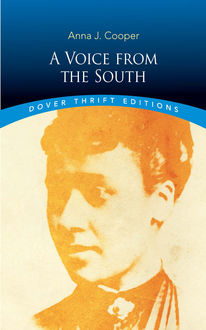 A Voice from the South, Anna Julia Cooper