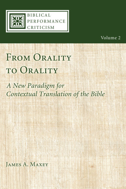 From Orality to Orality, James Maxey