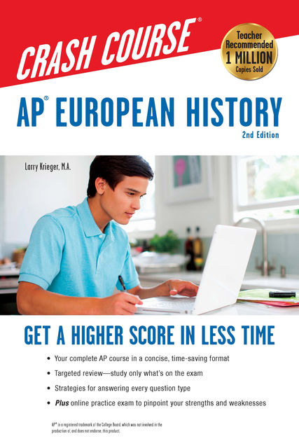 AP® European History Crash Course Book + Online, Larry Krieger, Patti Harrold
