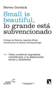 Small is beautiful, lo grande está subvencionado, Steven Gorelick