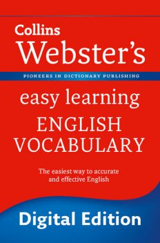 Webster's Easy Learning English Vocabulary, Collins