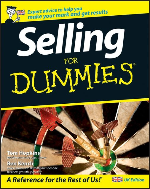 Selling For Dummies, Ben Kench, Tom Hopkins