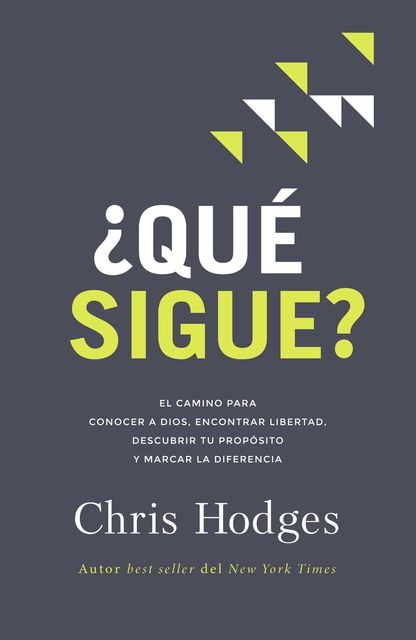 Qué sigue, Chris Hodges