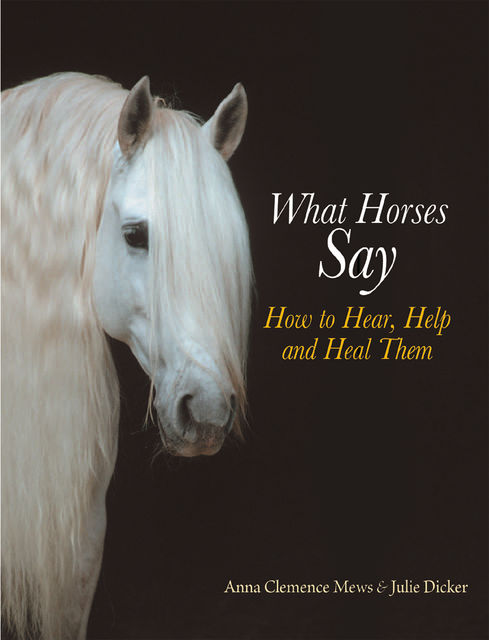 WHAT HORSES SAY, ANNA CLEMENCE, JULIE DICKER