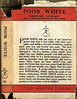 Poor White (Unabridged), Sherwood Anderson