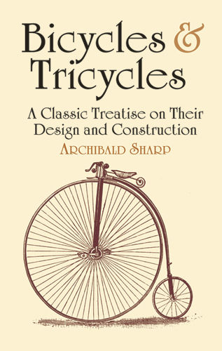 Bicycles & Tricycles, Archibald Sharp