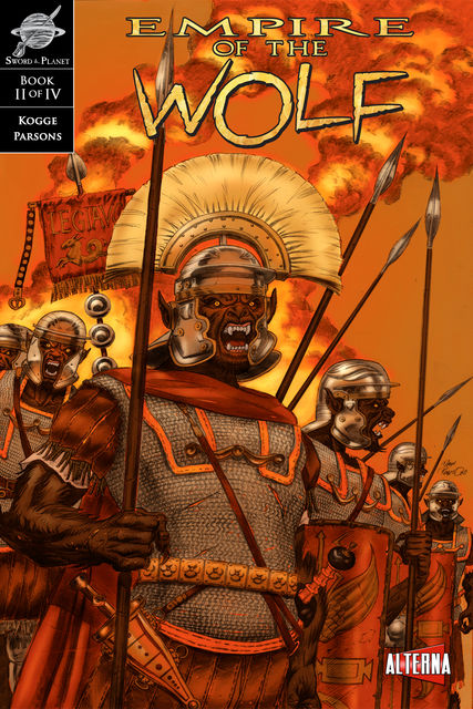 Empire of the Wolf #2, Michael Kogge