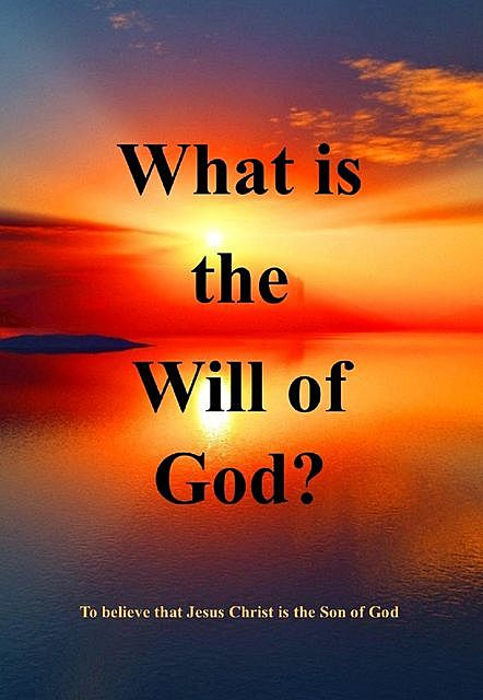 What Is the Will of God, e-AudioProductions. com