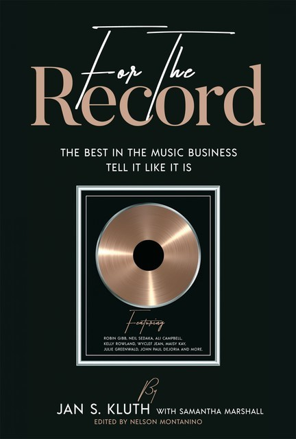For The Record, Jan S. Kluth, Samantha Marshall
