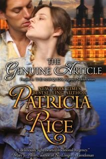 The Genuine Article (Regency Nobles Series, Book 1), Patricia Rice