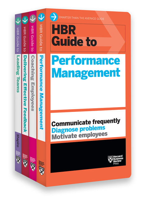 HBR Guides to Performance Management Collection (4 Books) (HBR Guide Series), Harvard Business Review, Mary Shapiro