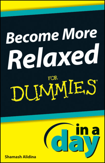 Become More Relaxed In A Day For Dummies, Shamash Alidina