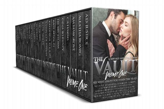 The Vault: A Sinfully Sexy Collection, Katie Ashley, Aleatha Romig, Nina Levine, Tia Louise, A.M. Hargrove, Scott Hildreth, Toni Aleo, T.K. Leigh, Gina Whitney, M. Stratton, S. Moose, A.D. Justice, C.A. Harms, Hilary Storm, Terri E. Laine, Katherine Rhodes, M.C. Cerny, Michelle Dare, MJ Fields, Kate Benson, Kathy Coopmans, Liv Morris