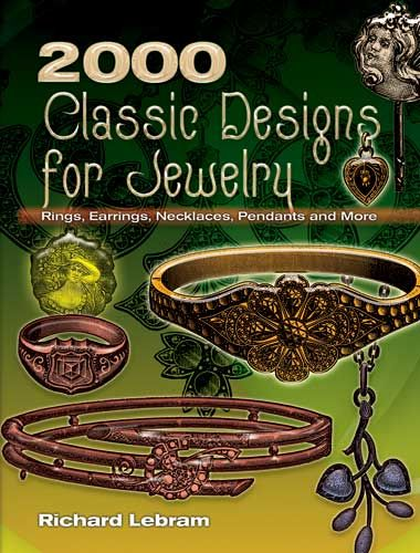 2000 Classic Designs for Jewelry, Richard Lebram