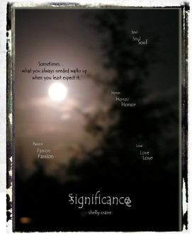 Significance 01 – Significance, Shelly Crane