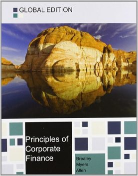 Principles of Corporate Finance 11th Global Edition, Brealey