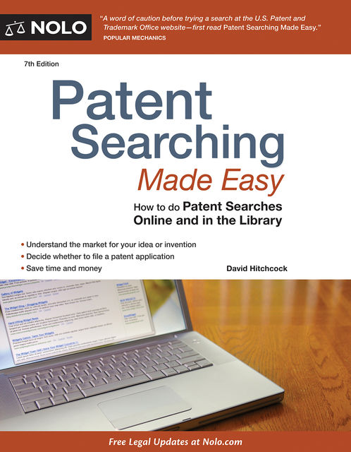 Patent Searching Made Easy, David Hitchcock