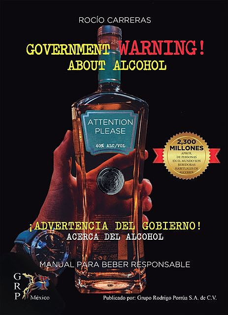 Government warning about alcohol, Rocío Carreras