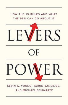 Levers of Power: How the 1% Rules and What the 99% Can Do about It, Kevin Young, Michael Schwartz, Tarun Banerjee