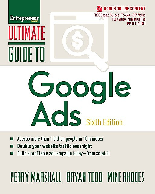 Ultimate Guide to Google Ads, Perry Marshall, Bryan Todd, Mike Rhodes