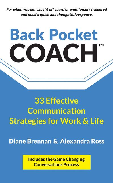 Back Pocket Coach, Alexandra Ross, Diane Brennan