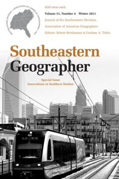 Southeastern Geographer, William Graves