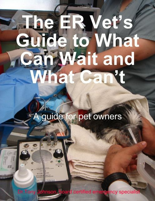 The ER Vet's Guide to What Can Wait and What Can't, Tony Johnson