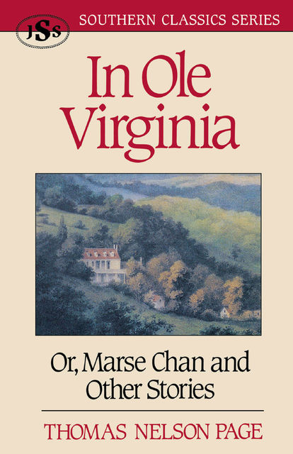 In Ole Virginia, Thomas Nelson Page