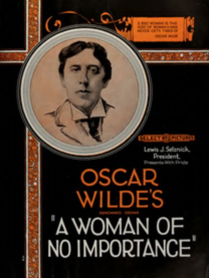 A Woman of No Importance, Oscar Wilde