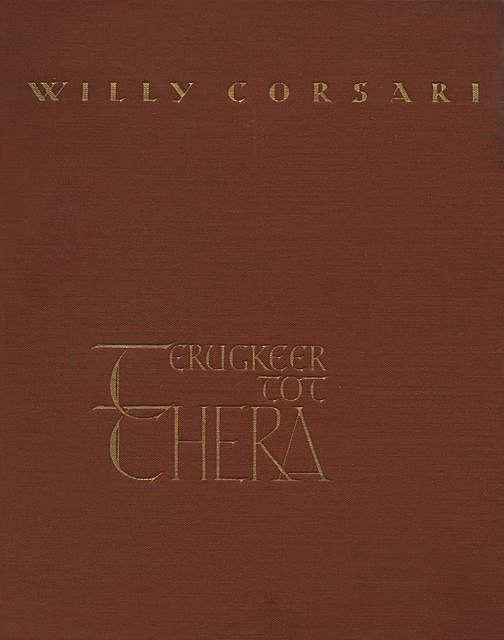 Terugkeer tot Thera, Willy Corsari