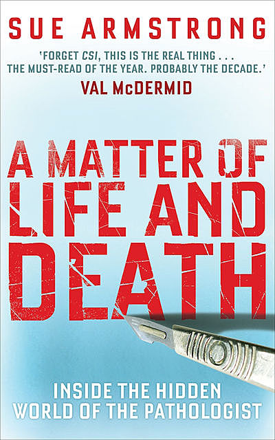 A Matter of Life and Death, Sue Armstrong