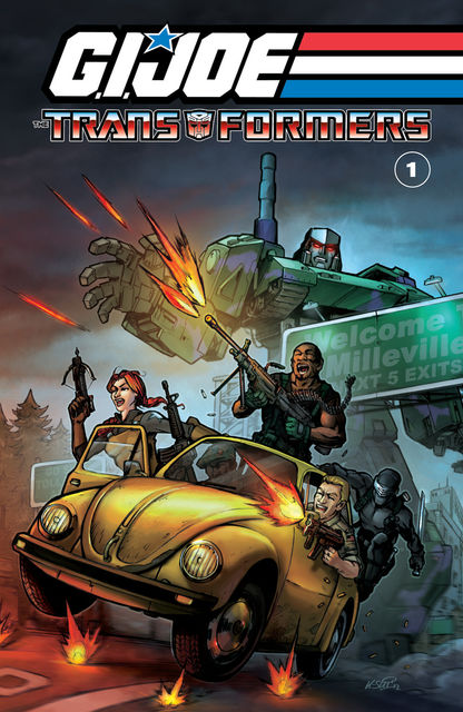 G.I. Joe/Transformers Vol. 1, Larry Hama, Michael Higgins