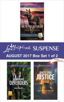 Harlequin Love Inspired Suspense August 2017 – Box Set 1 of 2, Lisa Phillips, Shirlee McCoy, Kathleen Tailer