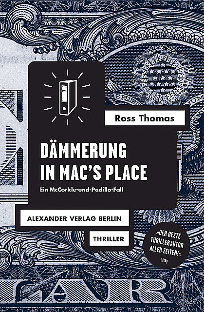 Dämmerung in Mac's Place, Ross Thomas