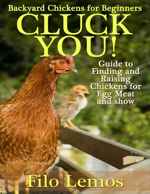 Backyard Chickens for Beginners: Cluck You : Guide To Finding and Raising Chickens for Egg Meat and Show, Filo Lemos
