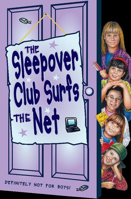 The Sleepover Club Surfs the Net (The Sleepover Club, Book 17), Fiona Cummings