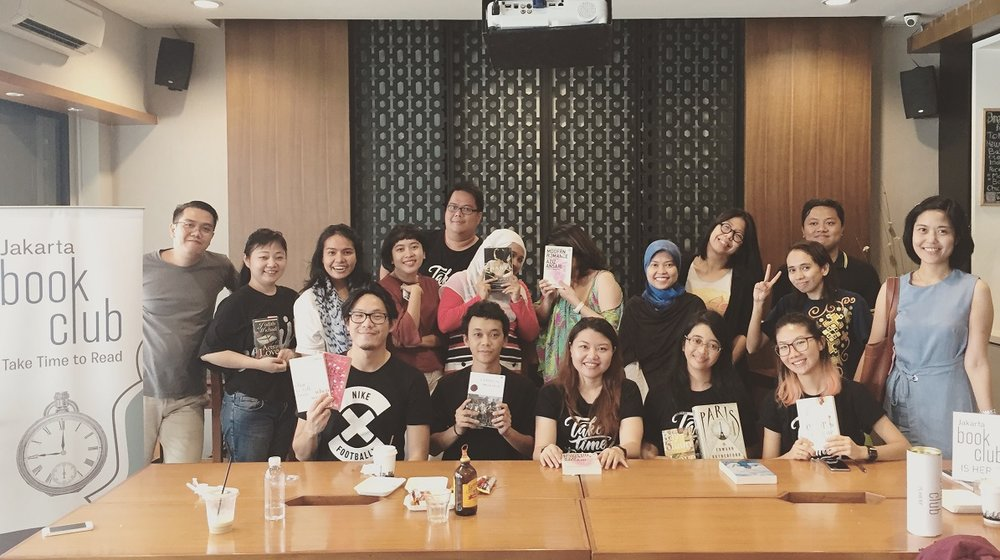 Time to Read, Jakarta Book Club