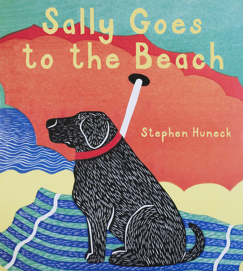 Sally Goes to the Beach, Stephen Huneck