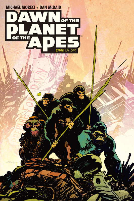 Dawn of the Planet of the Apes #1, Michael Moreci