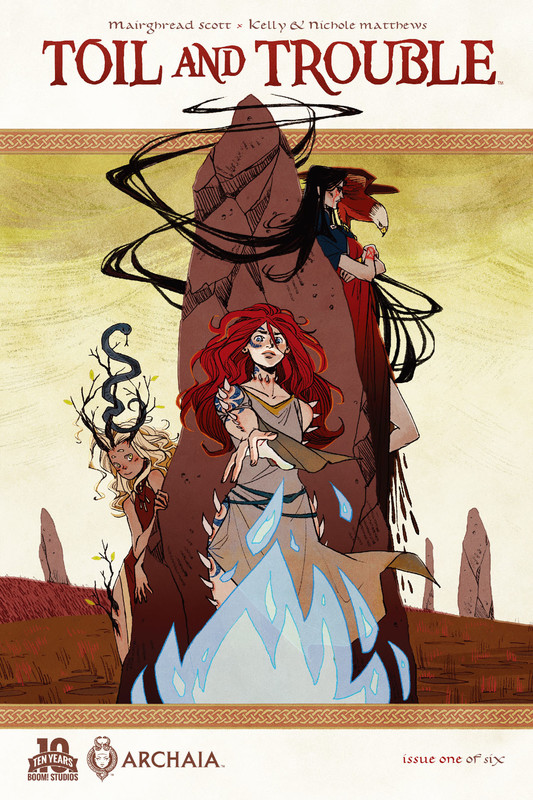 Toil and Trouble #1, Mairghread Scott