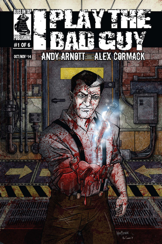 I Play the Bad Guy Issue 1, Andy Arnott