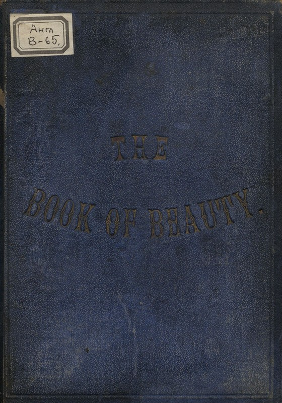 The Book of Beauty or Regal Gallery,