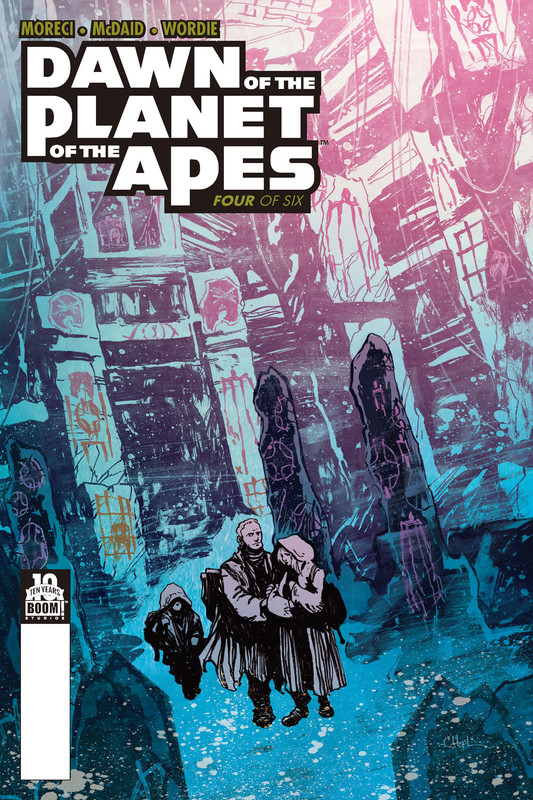 Dawn of the Planet of the Apes #4, Michael Moreci
