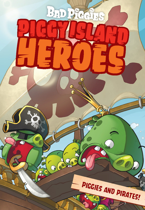 Piggy Island Heroes. Piggies and Pirates, Les Spink