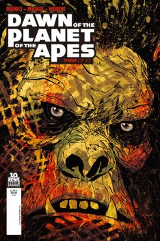 Dawn of the Planet of the Apes #3, Michael Moreci