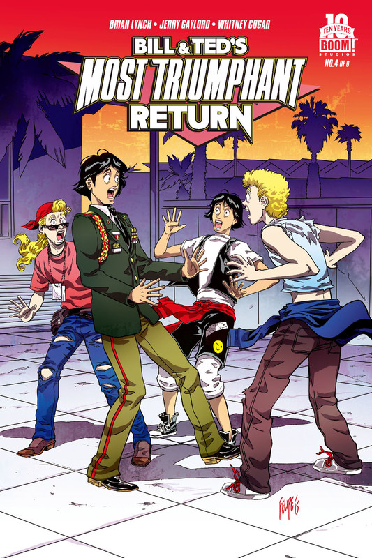 Bill and Ted's Most Triumphant Return #4 (of 6), Brian Lynch