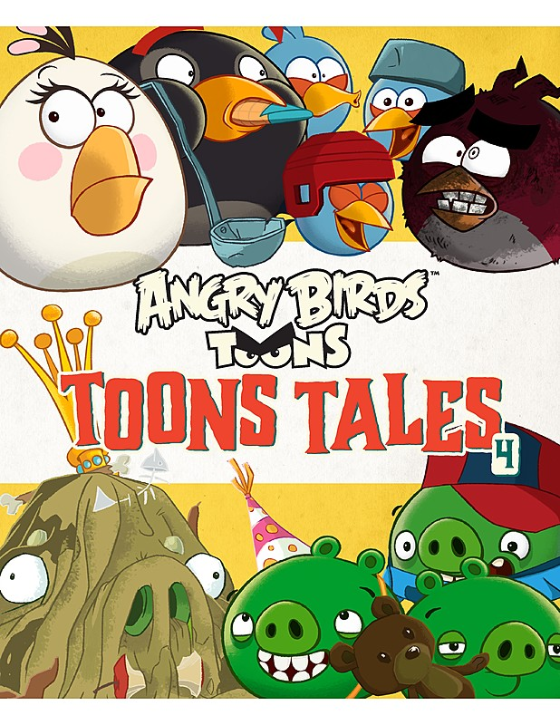 Angry Birds: Toons Tales 4, Les Spink