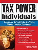Tax Power for Individuals, James Parker